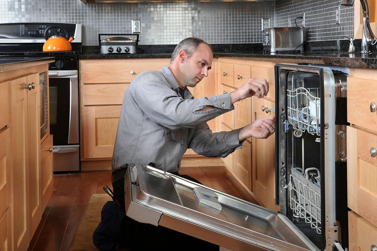 видео работы посудомоечной машины - 5